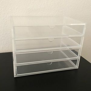 MUJI acrylic drawers Large - 2 piece